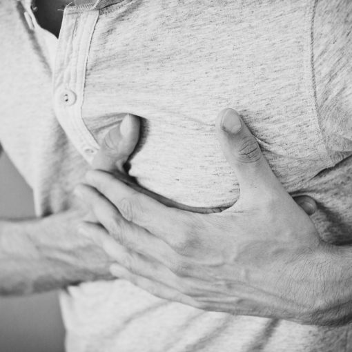 severe heartburn
